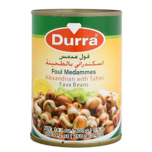 Habas salsa Egipcia Durra. 400g