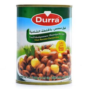 Habas salsa Damasco Durra. 400g