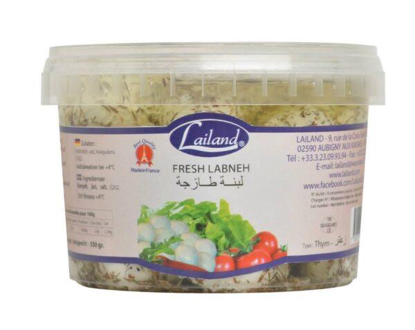Yogur con zaatar Lailand 320g