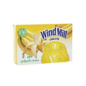 Gelatina de plátano halal Algota 80g