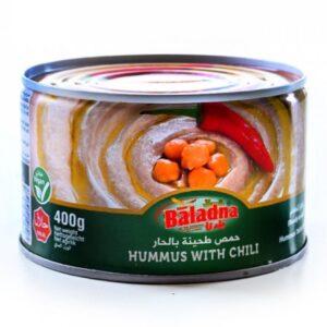 Humus con picante Baladna 400g