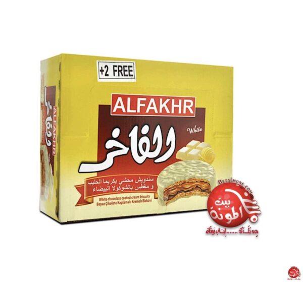 Alfakhr chocolate blanco. 24 und