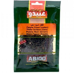 Pimienta negra grano Abido 50g