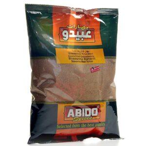 Especias Shawarma De Carne Abido 500g