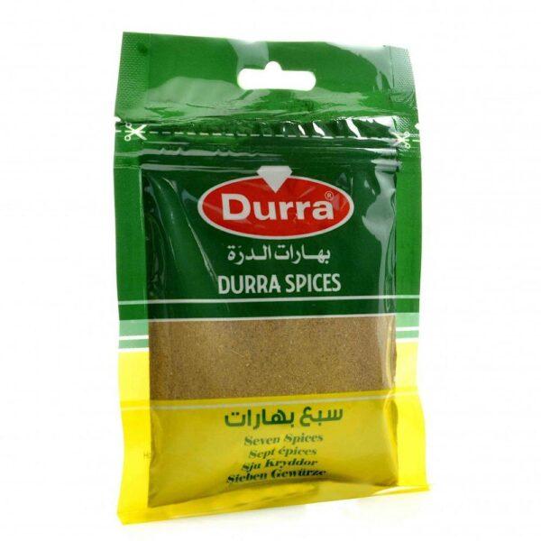Siete especias Durra 50g