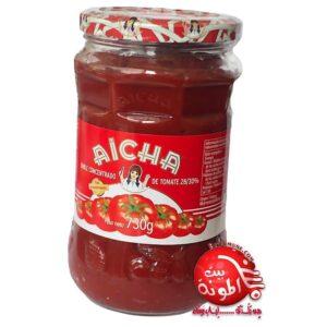 Pasta de tomate Aicha 730g