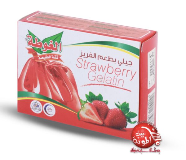 Gelatina de fresa Halal Algota 80g